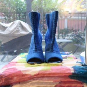 Open-Toe Sock Booties
